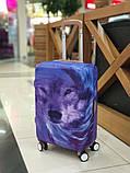 Чехол для чемодана Волк, фото 4