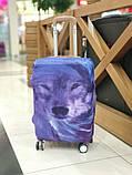 Чехол для чемодана Волк, фото 5