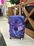 Чехол для чемодана Волк, фото 6