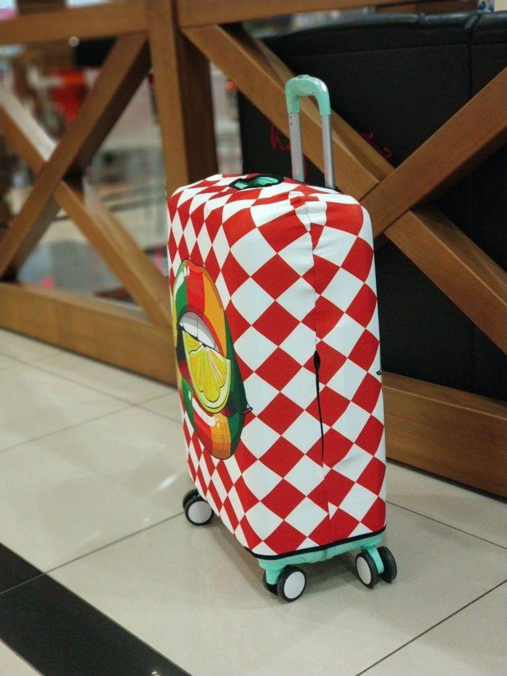 Чохол для валізи Лайм