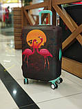 Чехол для чемодана Фламинго, фото 3