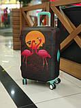Чехол для чемодана Фламинго, фото 4