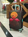 Чехол для чемодана Фламинго, фото 5