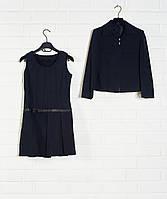 Костюм двойка для девочки(Сарафан + пиджак)