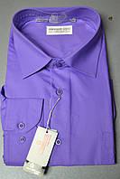 Мужская фиолетовая рубашка FERRERO GIZZI (размер 39, 41, 42, 43, 44, 45, 46)