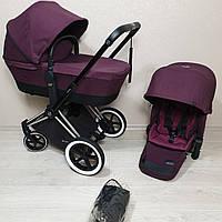 Детская коляска Cybex Priam Lux Mystic Pink Сайбекс