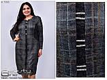 Стильное платье     (размеры 54-64) 0222-98, фото 4