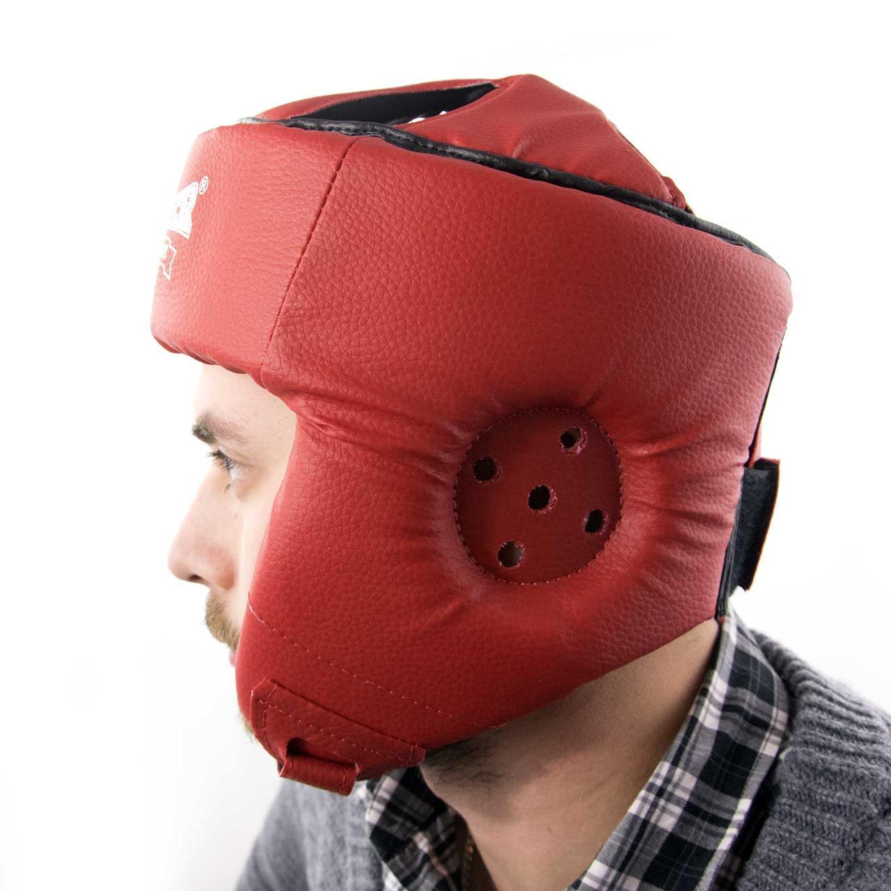Шолом карате з кожвинила Boxer M (bx-0070-1)