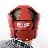Шолом карате з кожвинила Boxer M (bx-0070-1), фото 2