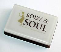 Мыло ручной работы с логотипом