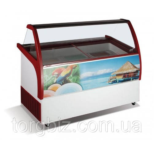 Вітрина для м'якого морозива Crystal VENUS ELEGANTE 46