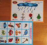 Логопедичні таблиці. Звуконаслідувальні та голосові вправи 16 карток. (НП), фото 5