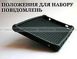 Черный противоударный чехол Lenovo Tab E8 TB-8304F TB-8304L резиновый с подставкой, фото 2