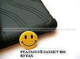 Черный противоударный чехол Lenovo Tab E8 TB-8304F TB-8304L резиновый с подставкой, фото 4