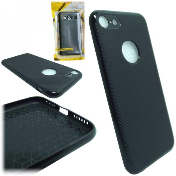 I-Zore силиконовая накладка для Huawei P Smart Plus Carbon Black