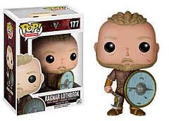 Фигурка Funko Pop Фанко Поп Викинги Рагнар Лодброк Vikings Ragnar Lothbrok 10 см Serial V RL 177