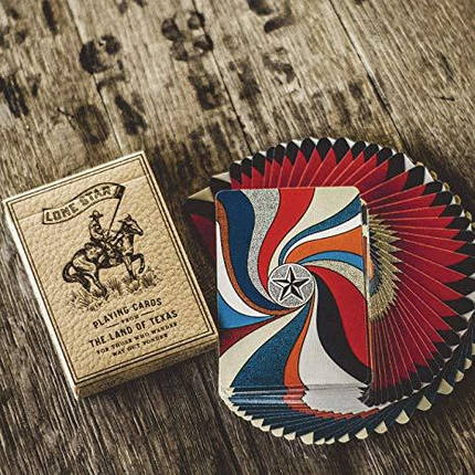 Deluxe Lone Star Playing Cardsby Pure Imagination Project, фото 2