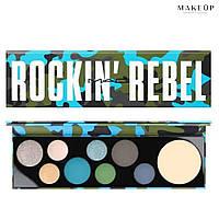Набор теней матовых и мерцающих MAC Rockin Rebel (палитра 9 цветов)