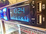 Автомагнітола з флешкою і Блютузом USB micro SD, FM AUX, фото 4