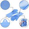 Силіконові рукавички для прибирання,миття посуду блакитні, фото 4