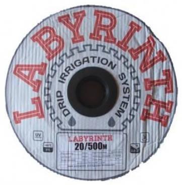 Щелевая лента для капельного полива Labyrinth шаг 45см бухта 300м, фото 2
