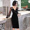 Чорне елегантне плаття