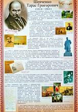 Плакат. Шевченко Тарас Григорович. (680х470 мм.) (СП)