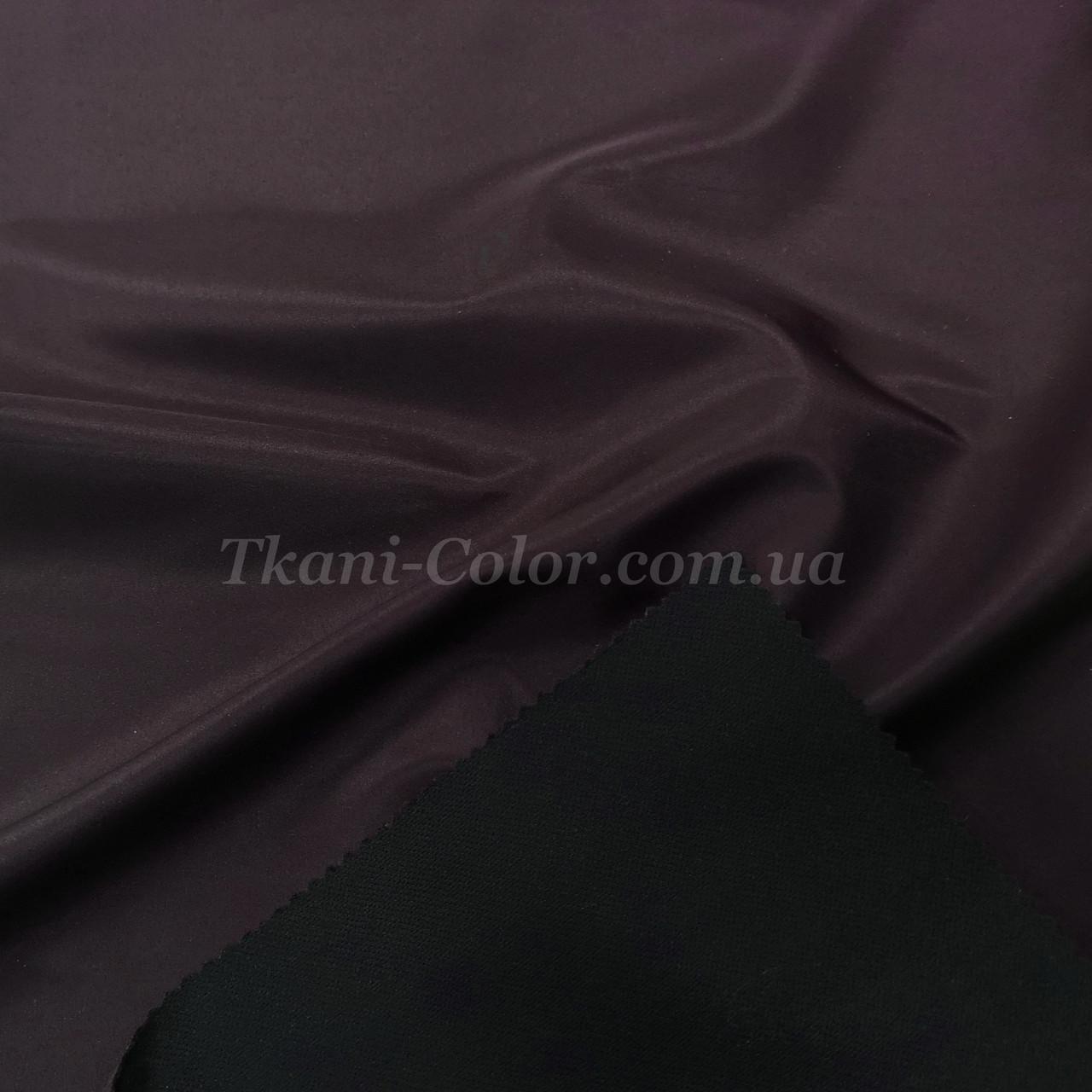 Тканина плащівка на основі президент баклажановий