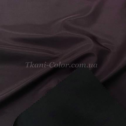 Тканина плащівка на основі президент баклажановий, фото 2
