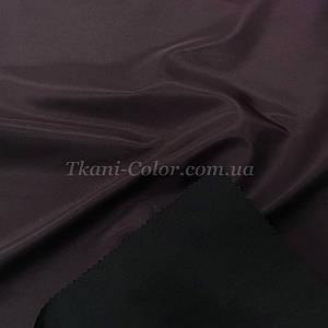 Ткань плащевка на основе президент баклажановый