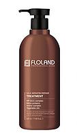 Відновлююча маска-бальзам для волосся з кератином Floland Premium Silk Keratin Treatment 500 мл, фото 1
