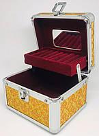 Шкатулка-кейс для косметики и бижутерии