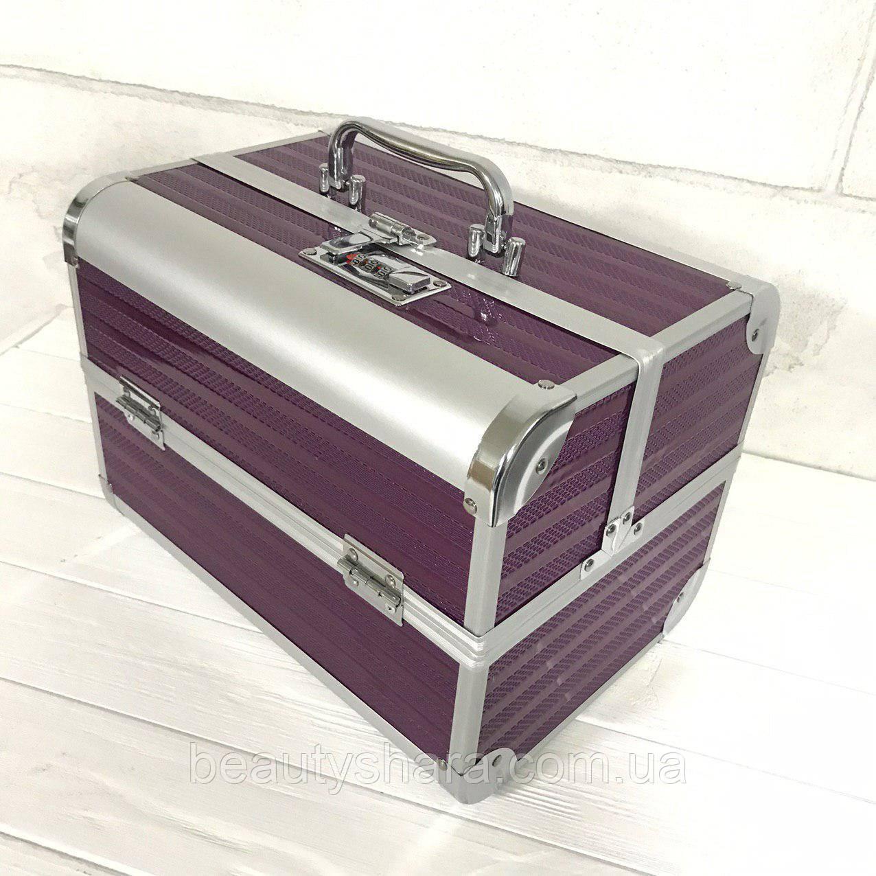 Кейс для косметики на кодовом замке Starlet (фиолетовый)