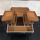 Кейс для косметики на кодовом замке Starlet (фиолетовый), фото 2
