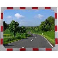 Cферическое  дорожное зеркало обзора прямоугольное 800х600 мм  (h)