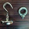 Пошуковий магніт сила 80кг +РымБолт + Гак в Подарунок