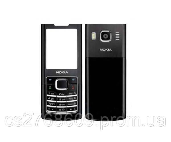 """Корпус """"АAA-клас"""" Nokia 6500 black + клавіатура"""