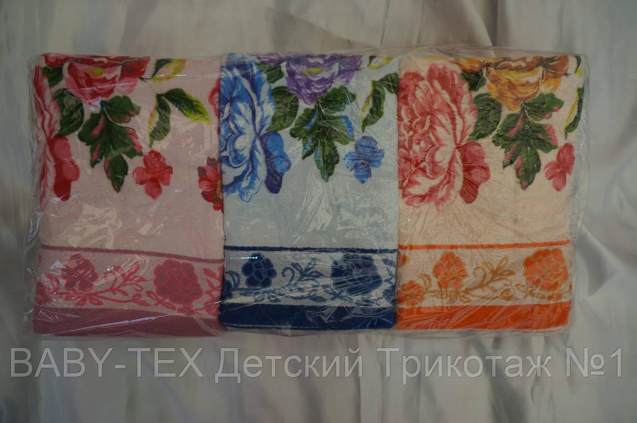 Рушник Яскраві Троянди для особи бавовна
