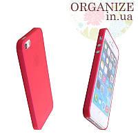 Чехол для Iphone 5 / 5S однотонный (красный)