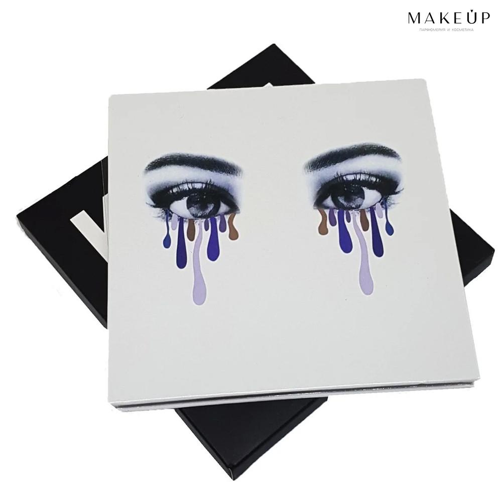 Набор теней с блестками Kylie Pressed Powder Eyeshadow (палитра 9 цветов)