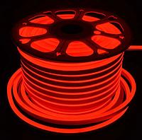 Лента Neon в бухте 5м 12V DC Красный (7187) / Светодиодная лента Красная, фото 1