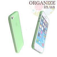 Чехол для Iphone 5 / 5S однотонный (зеленый)