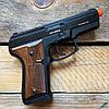 Стартовый пистолет Blow TRZ 914 + 50 патронов Ozkursan 9 мм (черный), фото 7