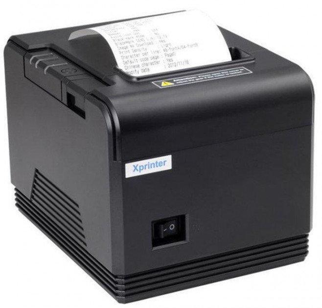 Термопринтер POS чековый XPrinter XP-Q200 80 мм, с автообрезкой