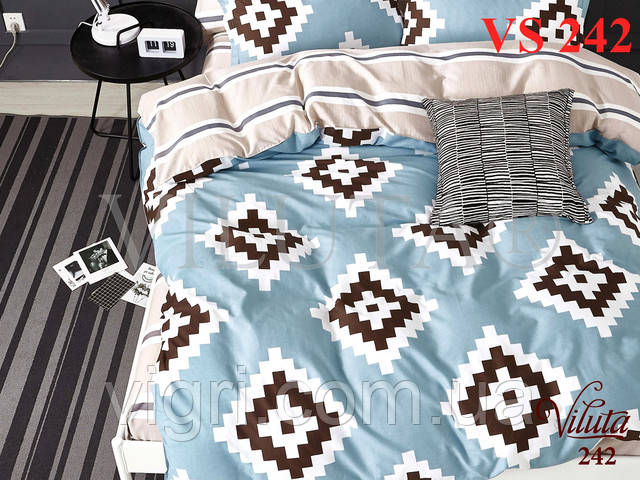 Постільна білизна полуторка, сатин, Вилюта «Viluta» VS 242