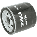 Фильтр масляный Mahle TOYOTA CAMRY 3.0I 01-;LANDCRUISER 3.4I 96-;HILUXII 2.5-3.0D 07-/LEXUS GS300 -05;IS200 9
