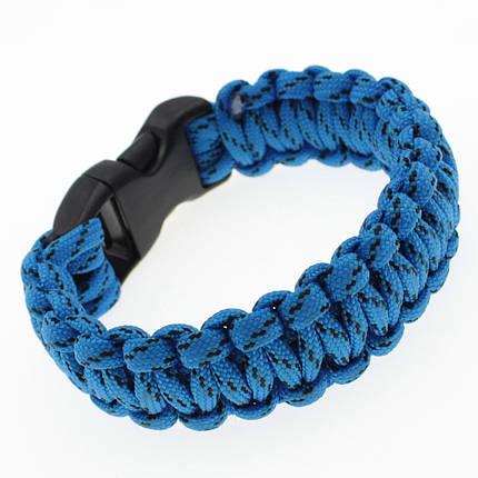 """Мужской плетеный браслет  """"Howard"""" L-21.5 см, фото 2"""