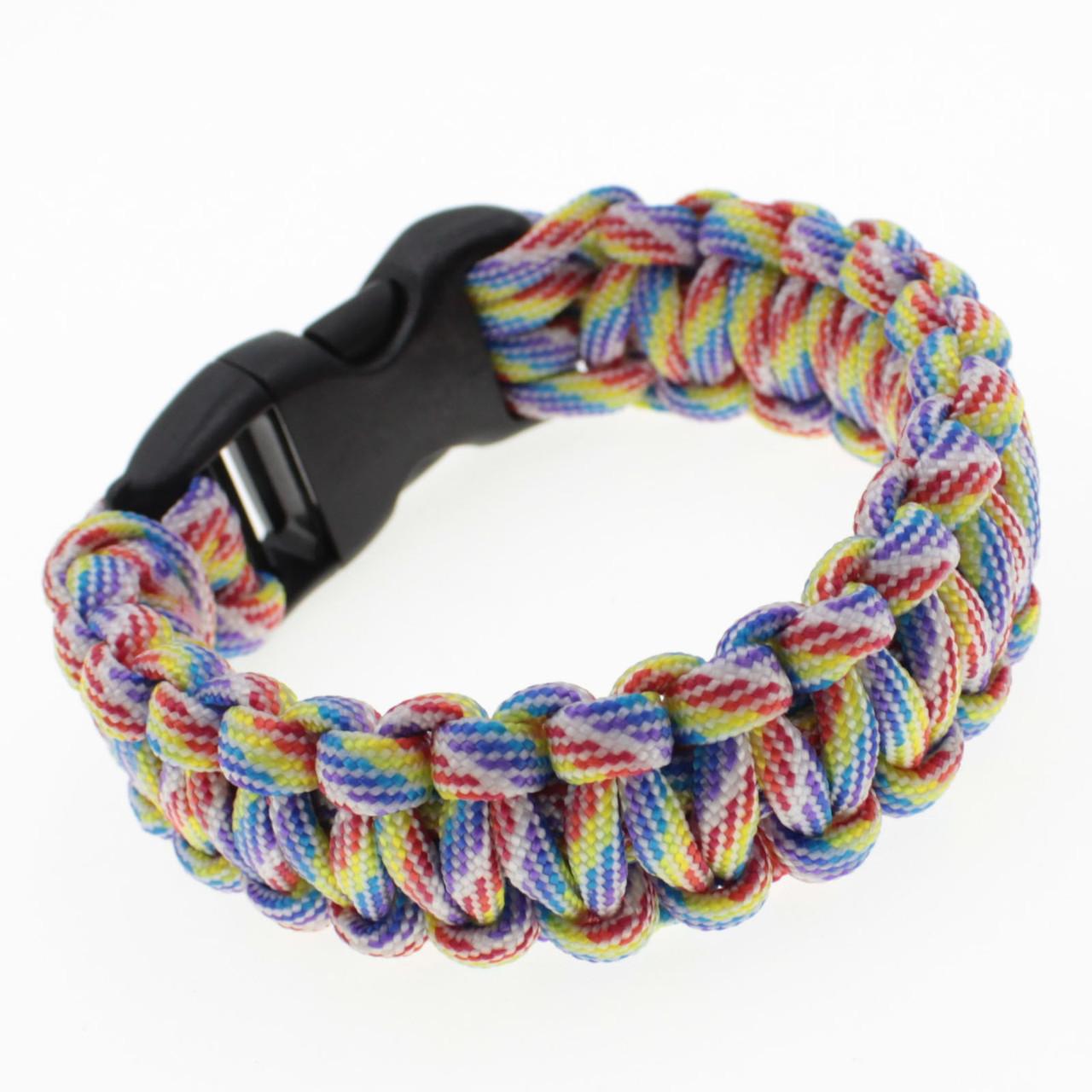 """Мужской плетеный браслет  """"Hugh"""" L-21.5 см"""