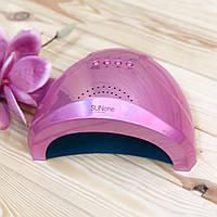 Лампа для маникюра UV/LED Sun One 48Вт pink mirror