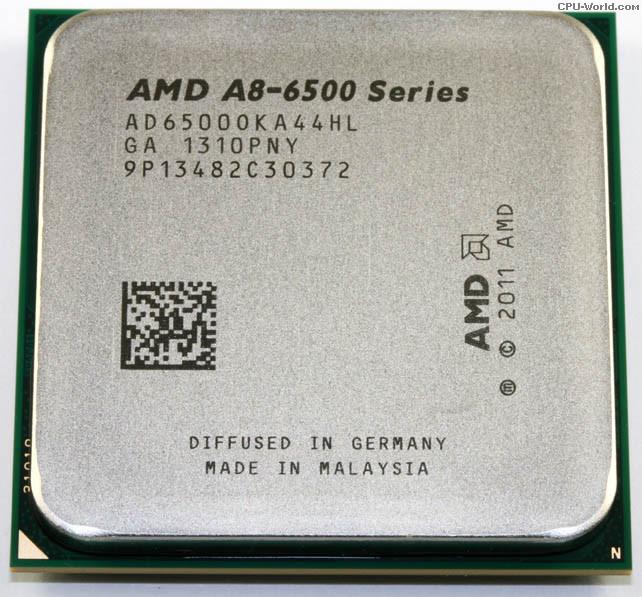 ТОПОВИЙ Проц AMD sFM2 ATHLON A8-6500K - 4 ЯДРА по 3.5 Ghz (TurboBOOST 4.1 GHZ ) кожне AD6500OKA44HL FM2